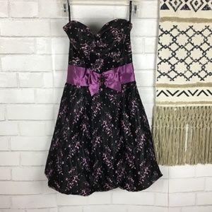 Jessica McClintock for Gunne Sax Strapless Dress